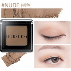 Тени для век моно Fitting Forever Single Shadow_#Nude(Skin Beige) 3,8гр